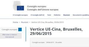 UE-Cina